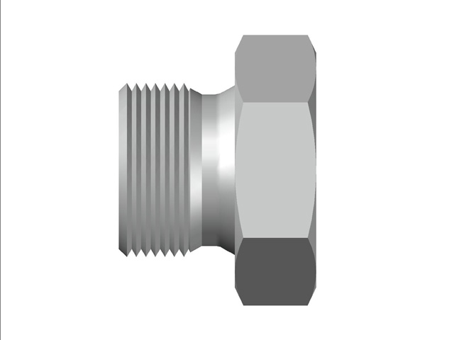 Hex Plug BSP (Parallel) Thread`