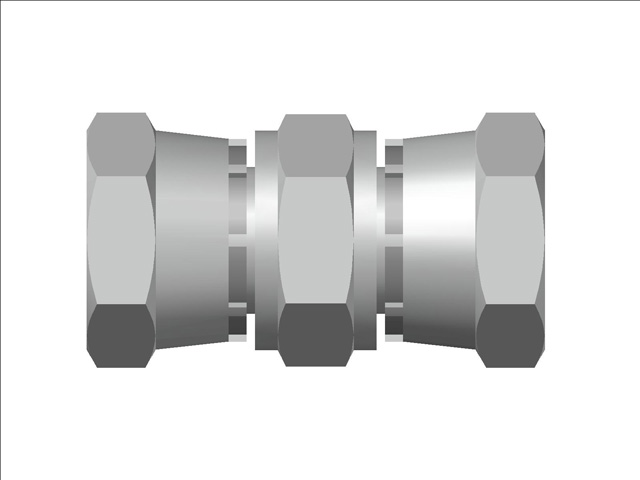 Female Swivel Union BSP (Parallel) Thread