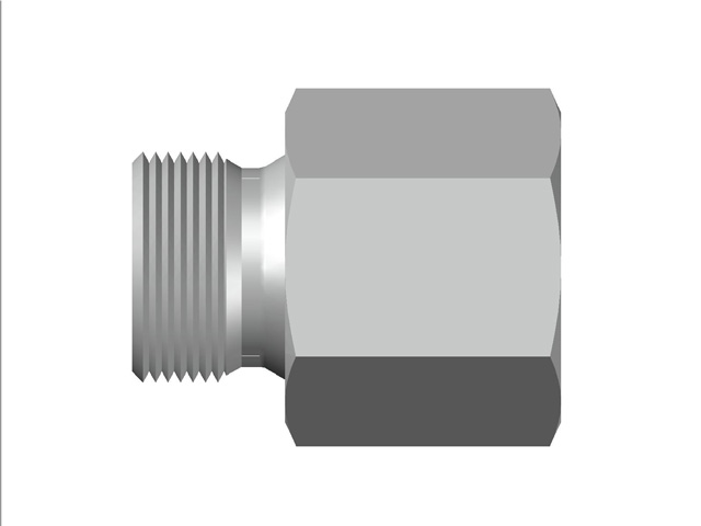 Male / Female Hose Bush BSP (Parallel) to BSP (Taper) Thread