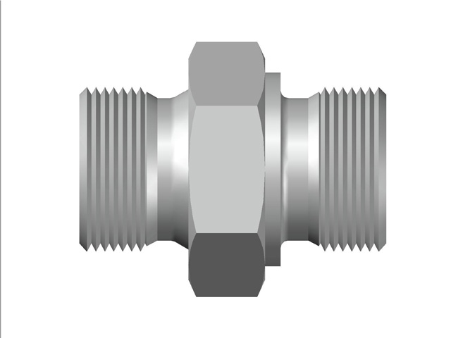 Male Adapter (OR) BSP (Parallel) to BSP (Parallel) Thread