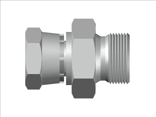 Swivel Female - Male Adapter BSP (Parallel) Thread