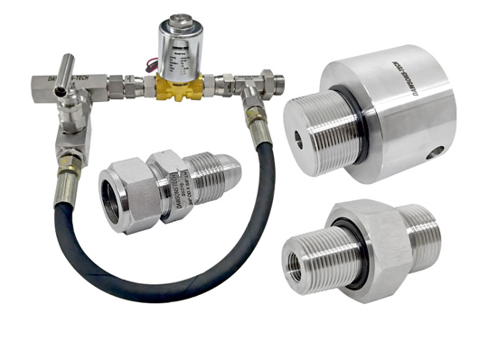 Customized Fittings And Valves