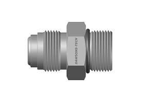 Straight Thread O-Ring Seal Male Connector