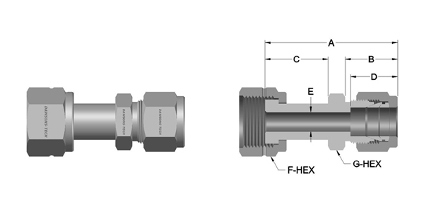 02-Compression-Tube-Fitting-Swivel-Connector