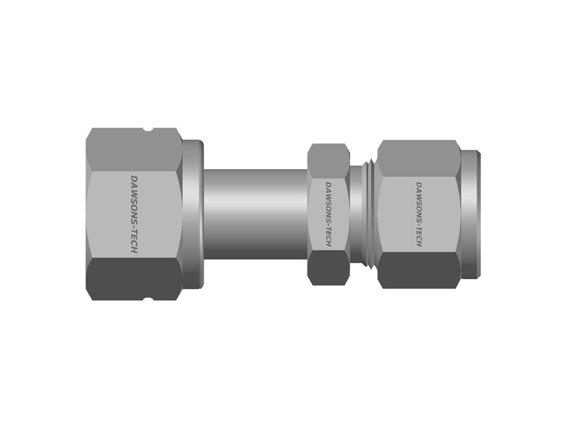 Compression Tube Fitting Swivel Connector