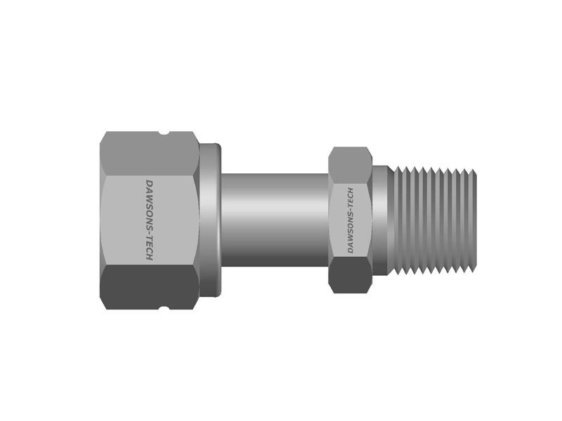 Swivel Male Connector (NPT Thread)