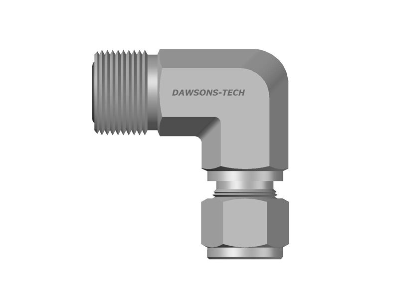 Compression-Tube-Fitting-Elbow