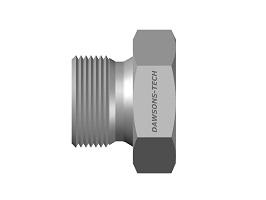 Hex Plug BSP (Parallel) Thread