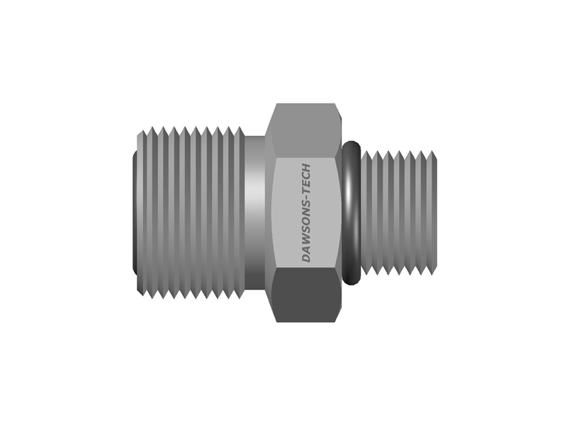 Male-Connector-(SAE-MS-Straight-Thread)