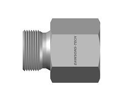 Male - Female Hose Adapter BSP (Parallel) to BSP (Taper) Thread