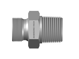 Male Adapter BSP (Parallel) to BSP (Taper) Thread