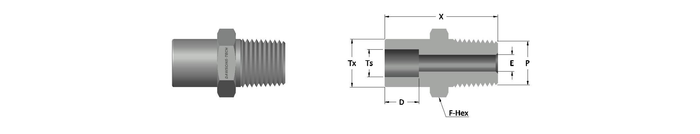 02 Male Connector