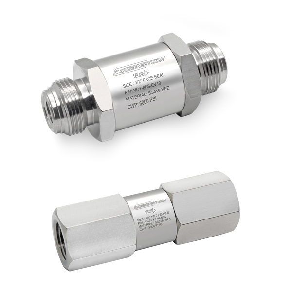 Instrumentation Check Valves Series : VC51