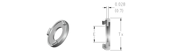 03 Gasket Retainer Assembly (Silver Plated)