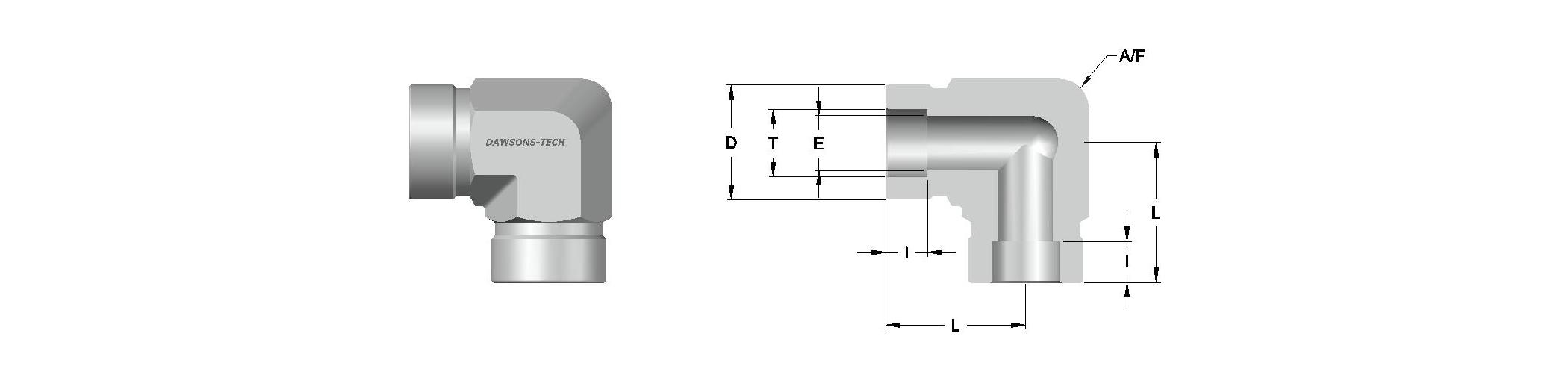 03 Tube Socket Weld Union Elbow