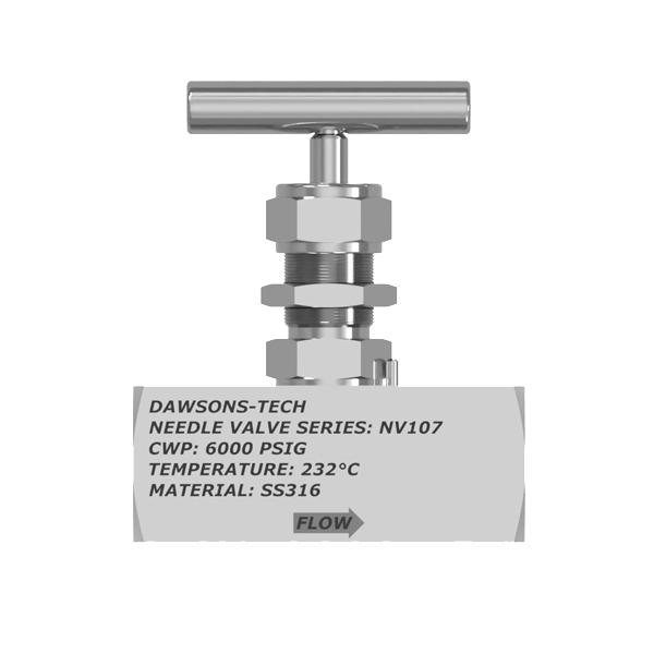 Instrumentation Needle Valve Series : NV107