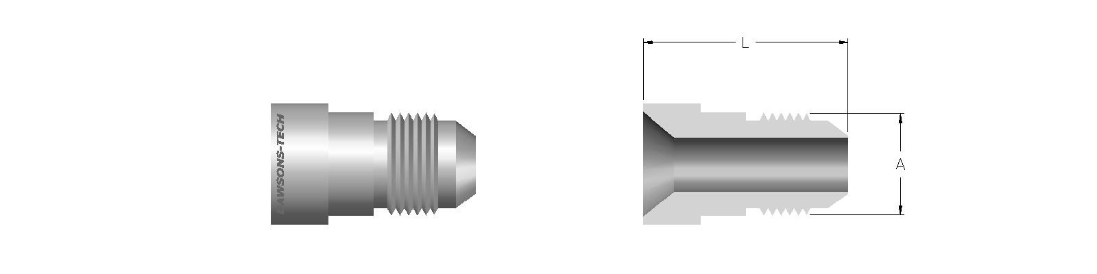 07 Reducing Adapter (Flare Tube End to Reduce Size)