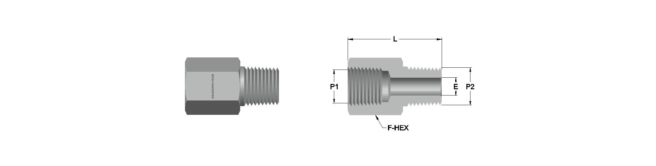 08 Adapter (NPT & BSPT) Threads