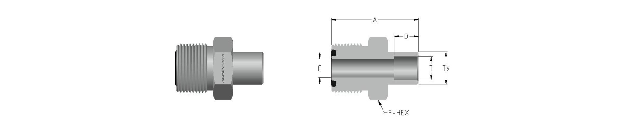 09 Tube Socket Weld Connector