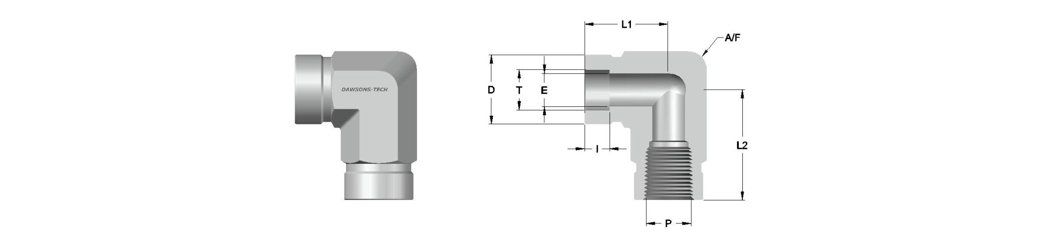 09 Tube Socket Weld Female Elbow