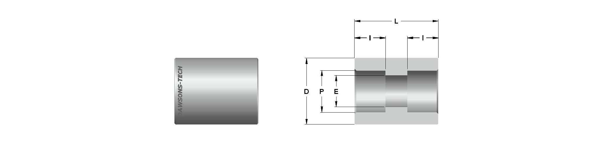 11 Pipe Socket Weld Union