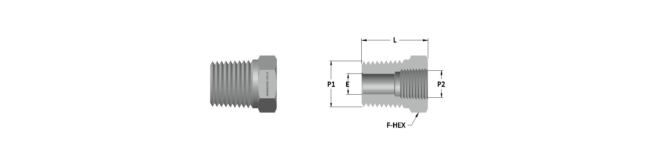 14 Reducing Bushing (NPT & BSPT) Thtreads