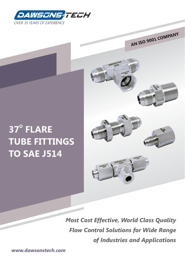 37° Flare Tube Fittings