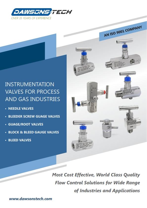 Instrumentation Needle / Gauge Valves