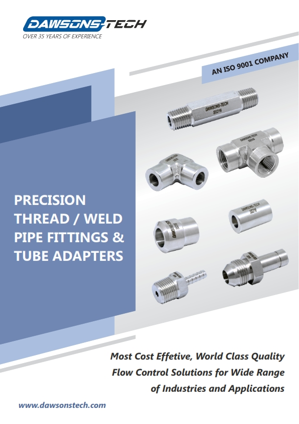 Precision Thread / Weld Pipe Fittings & Adapters