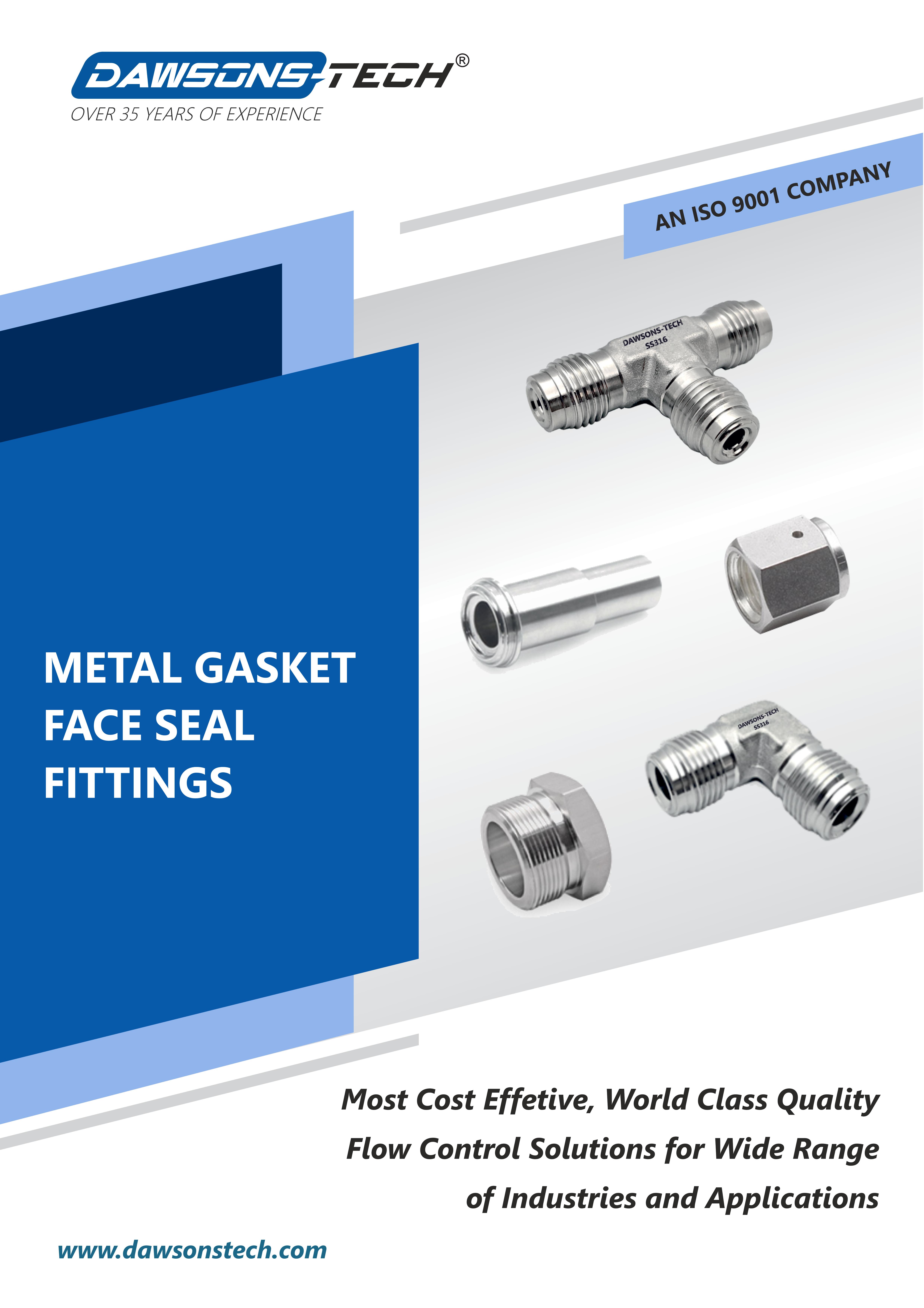Metal Gasket Face Seal Fittings