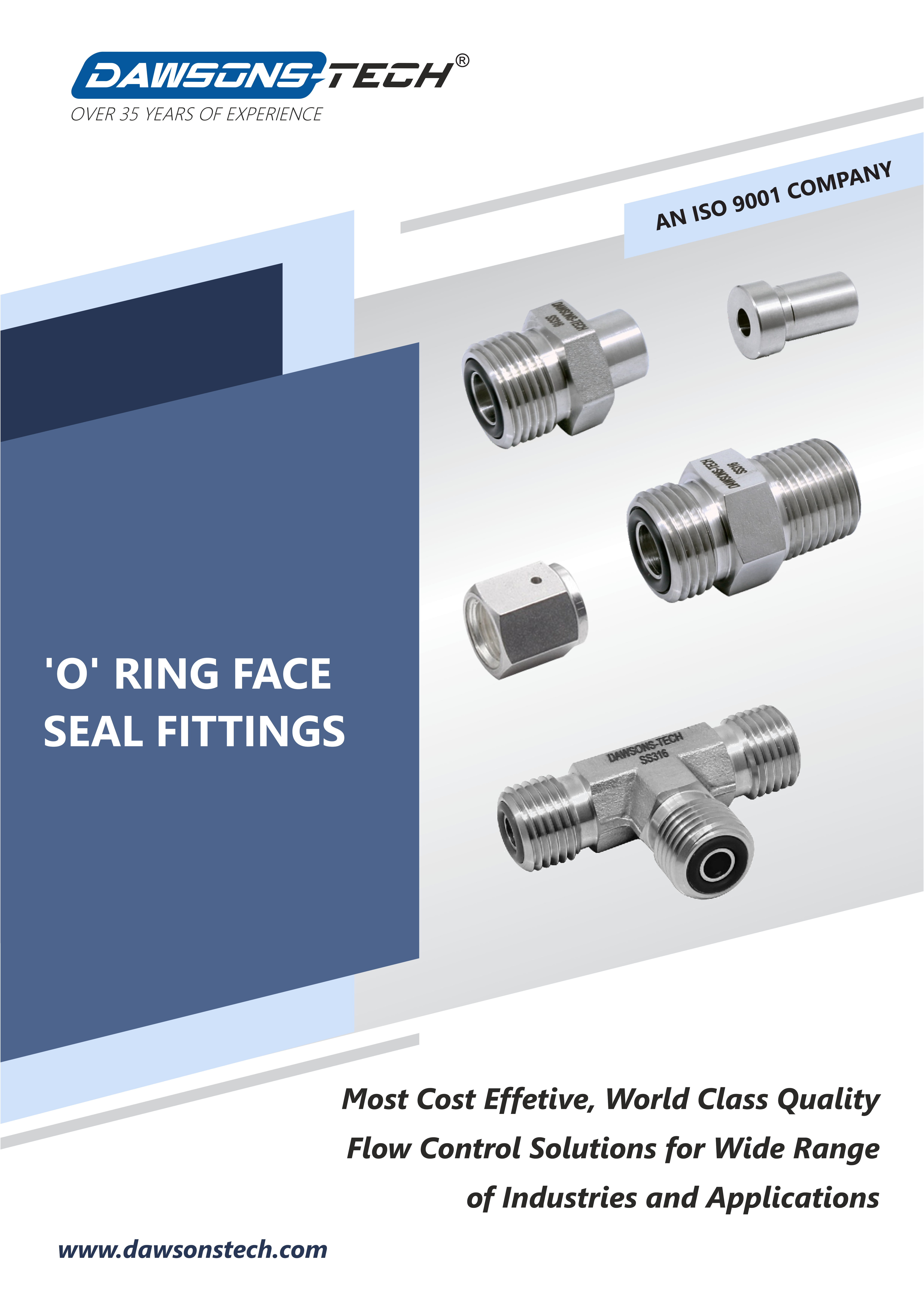 'O' Ring Face Seal Fittings