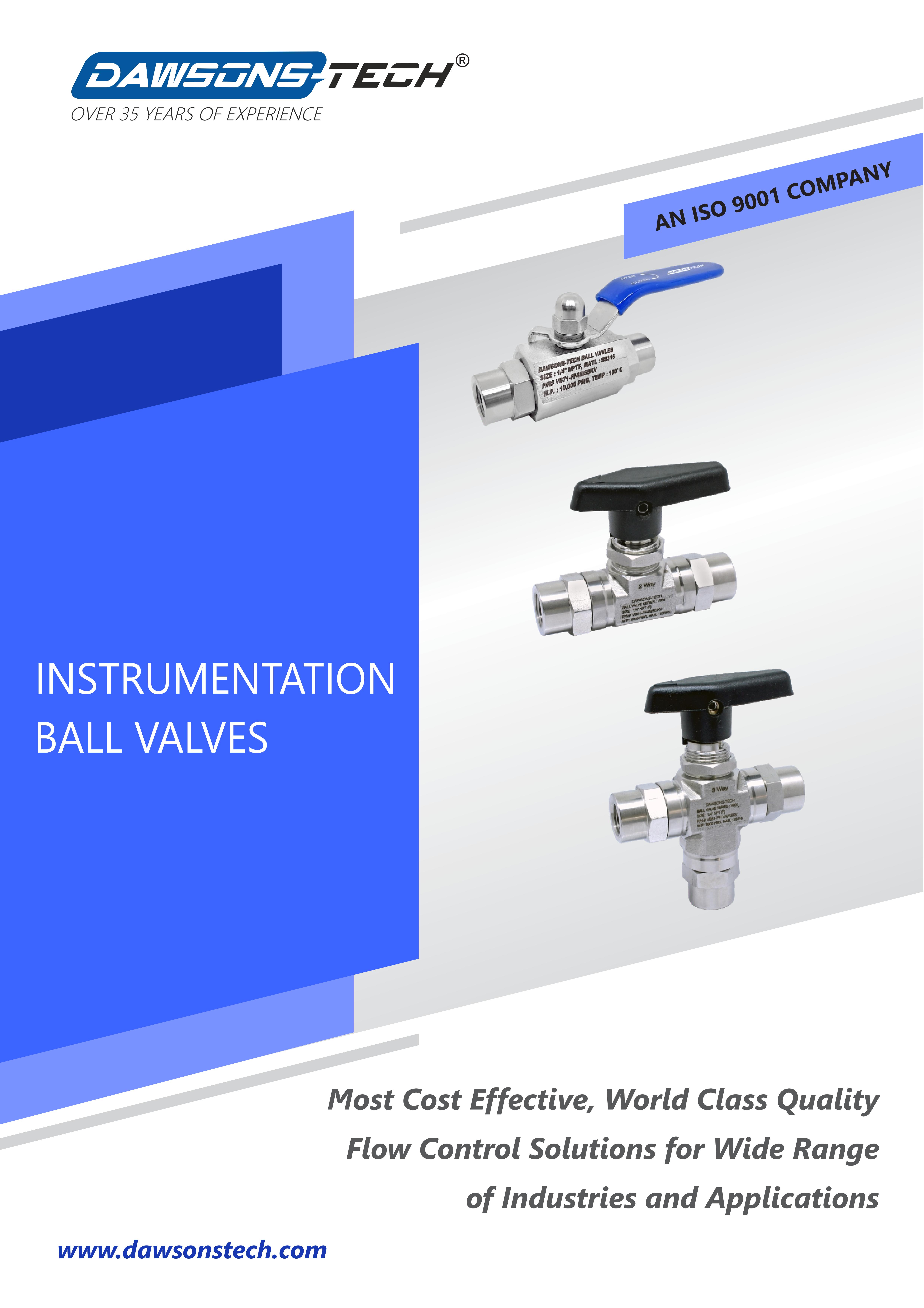 Instrumentation Ball Valves