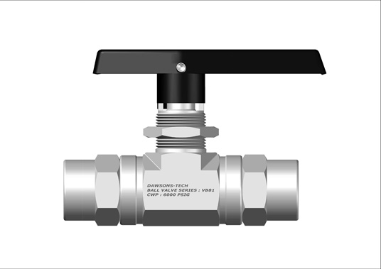 Two Way Ball Valve Series : VB81 (Panel Mountable with Live Load System)