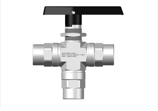 Two Way Ball Valve Series : VB91 (Panel Mountable with Live Load System)
